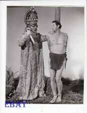 Johnny Weissmuller as Tarzan bound w/rope  VINTAGE Photo