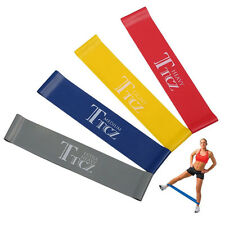 4pcs Training Strength Resistance Loop Band Exercise Yoga Bands Rubber Fitness