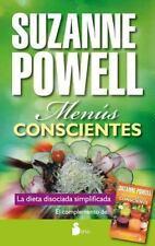 MENUS CONSCIENTES / CONSCIOUS RECIPES - POWELL, SUZANNE - NEW BOOK