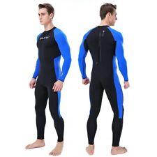 Neoprene Wetsuit Men Keep Warm Swimming Scuba Diving Bathing Suit Long Sleeve