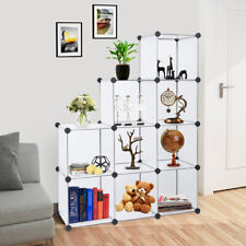 Us 9-Cube Diy Closet Organizer Shelf Bookcase Storage Modular Multifunctional