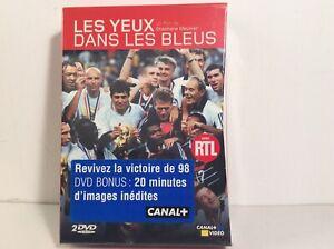 Coffret DVD «LES YEUX DANS LES BLEUS» Canal + Vidéo 1998 NEUF Rare