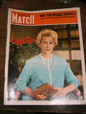 Paris Match N° 932 18 février 1967 Mort Martine Carol Cordobes Kennedy Johnson