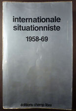 Internationale situationniste Collection complète Reliure éditeur 1975 TBE