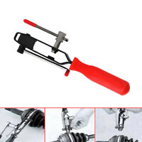 Car CV Joint Boot Clamp Banding Crimper Steel Auto Tools With Cutter Plier 1pc