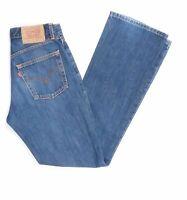 Levi's Levis Jeans 525 W31 L34 blau stonewashed 31/34 Bootcut -JA6003