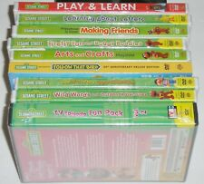 Kid DVD Lot of 9 - Sesame Street Lot (9 New DVDs) Elmo Cookie Monster Big Bird
