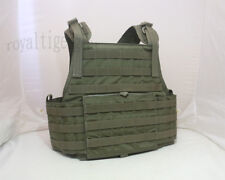 FLYYE MOLLE PC Plate Carrier Tactical Vest - Ranger Green size L CORDURA 1000D