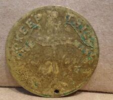 Geo. R. Mayhew Grand Rapids Michigan Staple Wire For Elliot Button Fastener Coin