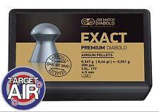 JSB Match Diabolo PREMIUM Exact .177 Carefully selected pellets +/- 0.001g!