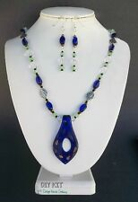 Murano Styled Glass Pendant Adult Jewelry Making Bead Kit with Instructions