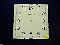 Cadran peint pendule Zenith horloge Uhr Clock Zifferblatt  Clock dial C2