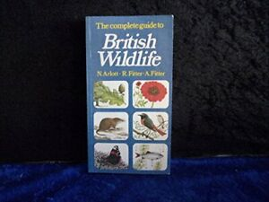 British Wildlife by A. Fitter Paperback Book The Cheap Fast Free Post