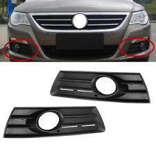 Fit For VW CC Passat cc 2009-2012 Front Fog Light Grille W/ Hole Grille Bezel