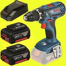 Bosch Visseuse sans fil GSR 18v-28 avec 2 batteries 3,0 Ah + Chargeur sans dépôt
