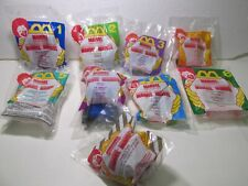 McDonald's Set Of 9 Marvel Super Heroes Happy Meal Toy 1996 t4770