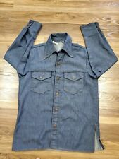 Vintage Bar C Authentic Western Denim Jacket Heavy Shirt
