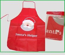 Santa's Helper CHRISTMAS APRON for MASTER CHEF Festive Cooking Party Home Gift
