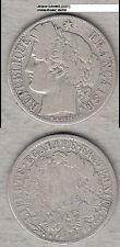 1 Franc 1872 A (D087) Briefmarkenhandel Jürgen Schmidt Berlin stampsdealer