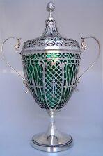 Chestnut Vase Large Dutch Sterling Silver 1908