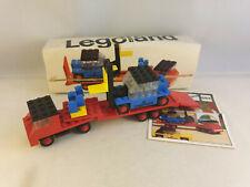 Lego Legoland - 684 Low-Loader with Fork Lift Truck