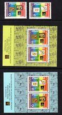 1994 Philippines International Stamp Exhibition singles & souvenir sheets set