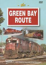 Green Bay Route DVD Pentrex Western Railroad GB&W Alcos Wisconsin NEW trains