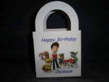 PAW PATROL Personalized Birthday Party 12 Favor Boxes / goody bags