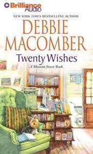 TWENTY WISHES Unabridged Audio book on CD by DEBBIE MACOMBER - Brand New!