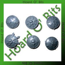Warhammer Bin Bits Chaos Marauder Horsemen - 6x Shields