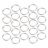 500x Octagon Perlen Ringe Prismenringe Kronleuchter Verbinder Kristallverbinder