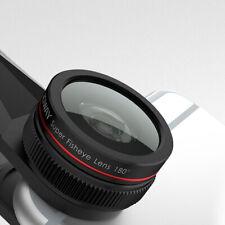 Cámara SLR de calidad profesional lente Ojo de Pez Gran Angular Macro para teléfono móvil