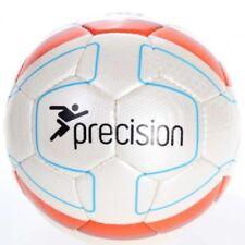Precision Santiago White Blue Orange Match Quality Football Size 4