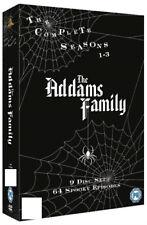 THE ADDAMS / ADAMS FAMILY - COMPLETE TV SERIES SEASON 1-3 (1 2 3) DVD BOX NEW