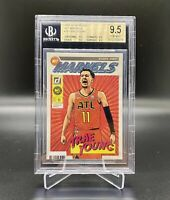 2019/20 PANINI DONRUSS NET MARVELS #16 TRAE YOUNG BGS 9.5 TRUE 💎 MINT