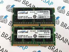 8GB (2x 4GB) DDR3 RAM Crucial CT51264BC1339 SO-DIMM - 2Rx8 PC3-10600S-9-10-FP