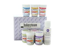 bakeryteam Lebensmittelfarben 8 x 35g + Wilton weiß