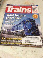 """TRAIN MAGAZINE """"TRAINS"""" June 2007"""