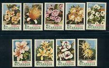 Nicaragua Scott #932//C855 MNH Wild Flowers and Cacti FLORA CV$2+