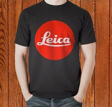 Best Leica Optics Hunting Rifle Scopes Binocular Camera Black T-shirt Size S-3XL