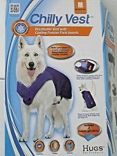 Hugs Pet Products: Cooling Chilly Vest for Dogs -MEDIUM- adjustable NEW