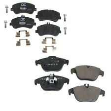 For Mercedes X204 GLK350 Front /& Rear Brake Pad Sets w// Sensors /& Shims OES