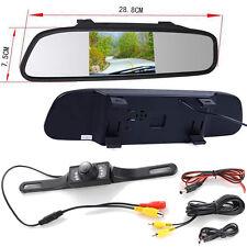 """4.3"""" LCD voiture arrière système de sauvegarde caméra de recul Kit Night Vision"""