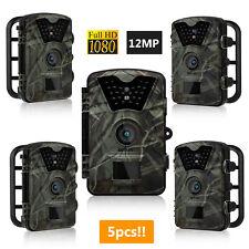 5pcs 12.0MP Hunting Camera Trail Scouting Wildlife Night Vision IR Cut Infrared