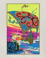 LET/'S GO SURFING BIG WAVE POSTER 24x36 OCEAN SPORTS 1389