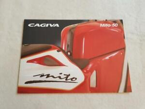 CAGIVA MITO 50 Motorcycle Sales Brochure c1997 #00198UK