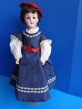 """ANTIQUE 18"""" SIMON & HALBIG #1159 LADY DOLL- MARKED BODY"""
