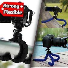 Universal Mini Trípode Flexible Cámara Soporte Pulpo Gorillapod fuerte - (azul)