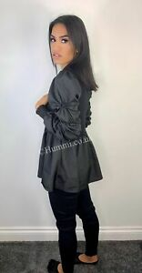 Black rouched sleeve laticia co ord