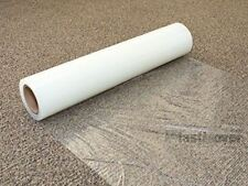 NEW! iPackBoxes - Carpet Mask Protection Film - CLEAR - 24 inch by 100 feet (2'